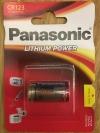 """1 Stück 3 Volt CR123A Lithium Marke """"Panasonic"""" (1 Stück)"""
