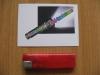 Feuerzeug mit Piezozündung, nachfüllbar, Farbe rot