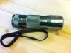 """12 LED """"Polizei""""-Taschenlampe, Gehäuse grau, Licht UV"""